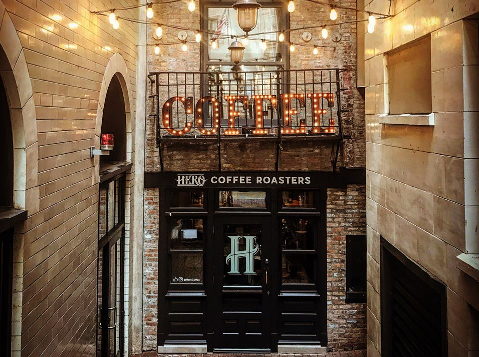 Photo credit Hero Coffee Bar & 10 Chicago Coffee Shops Youu0027ll Want to Visit This Fall | Travel Tips ...